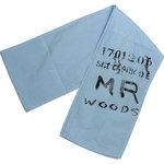 Mr & Mrs Woods festlicher Schal light blue