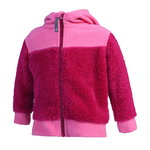 Color Kids Fleecejacke Katty rasberry