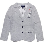 Mr Woods festlicher Sweat Blazer grey