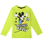 Disney Mickey Shirt Fußball neon green