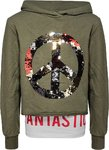 Blue Effect Sweatshirt Wendepailletten khaki