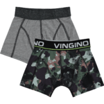 Vingino Hide Shorts 2 Pack army all over