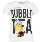 Geisha T-Shirt Bubble Tea weiß