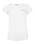 Geisha Basic T-Shirt white red
