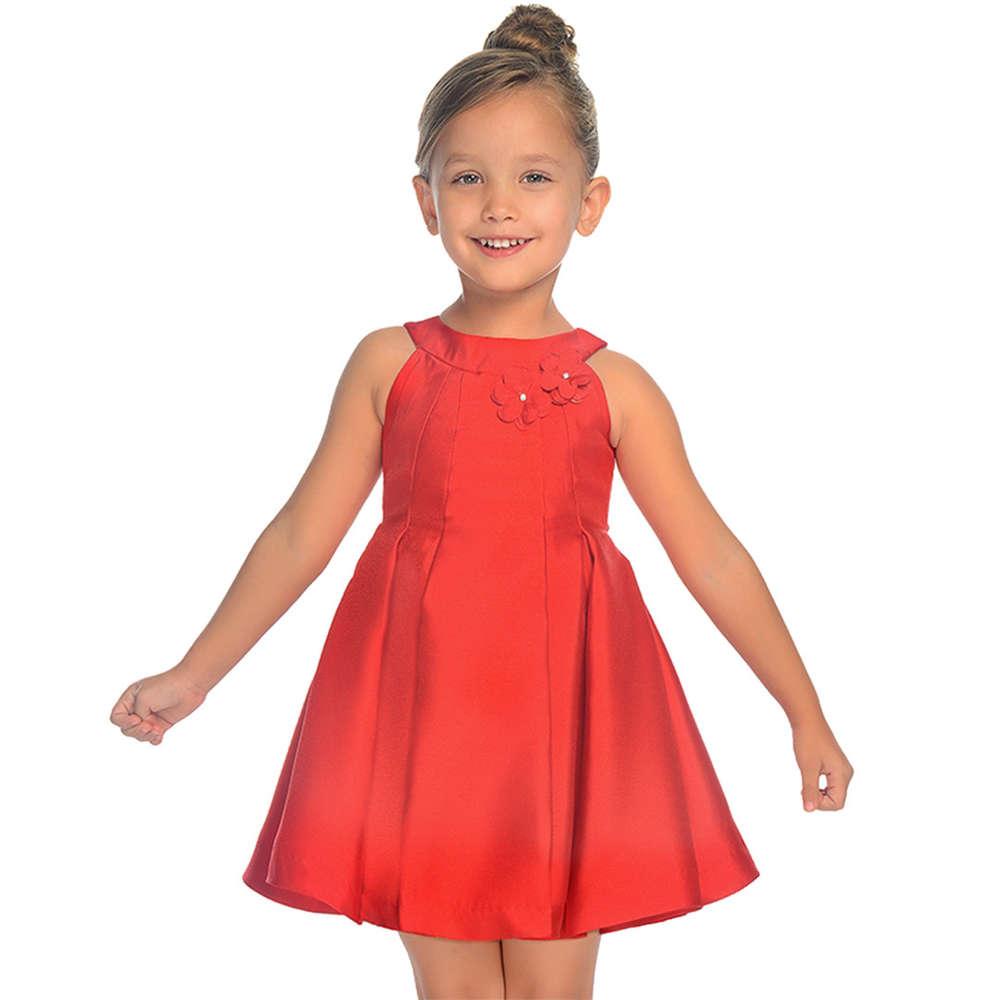 mayoral festliches kleid rot -sommer 19