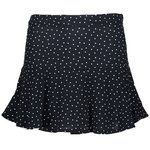 Geisha Skirt-Pants navy white Dots