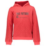 Geisha Kapuzensweatshirt The Future red