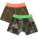 Vingino Camou 2 Pack Shorts camouflage green