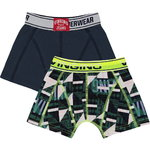 Vingino Graphic  Boxershorts 2 Pack dark blue