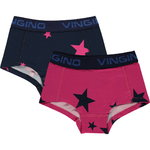 Vingino Glow Shorts 2 Pack dark blue