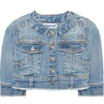 Mayoral Baby Jeansjacke bleached denim