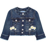 Mayoral Baby Jeansjacke dark blue