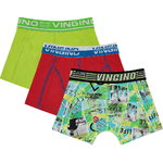 Vingino Lifestyle Shorts 3 Pack neon green