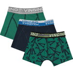 Vingino Grafiek Shorts 3 Pack evergreen