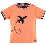 Babyface T-Shirt Airplane orange red