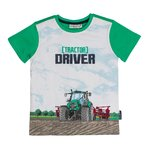 Salt and Pepper T-Shirt Driver spring green
