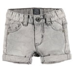 Babyface Jogg Jeans Shorts grey denim