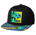 MaxiMo Base Cap goal u.win black