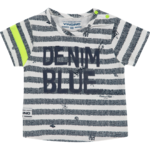 Vingino Held Baby T-Shirt blue stripe