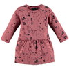 Babyface Kleid Zirkusprint dusty rose
