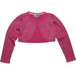 Happy Girls festlicher Glitzer Bolero pink