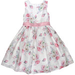 Happy Girls festliches Kleid Flower rose