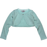Happy Girls festlicher Glitzer Bolero ice blue