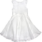 Happy Girls festliches Kleid Flower offwhite