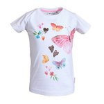 Salt and Pepper T-Shirt Butterfly white
