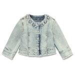 Mayoral Baby Jeansjacke bleached blue